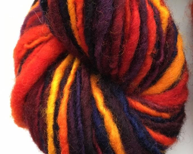 Bright Rainbow Maine Wool Lopi