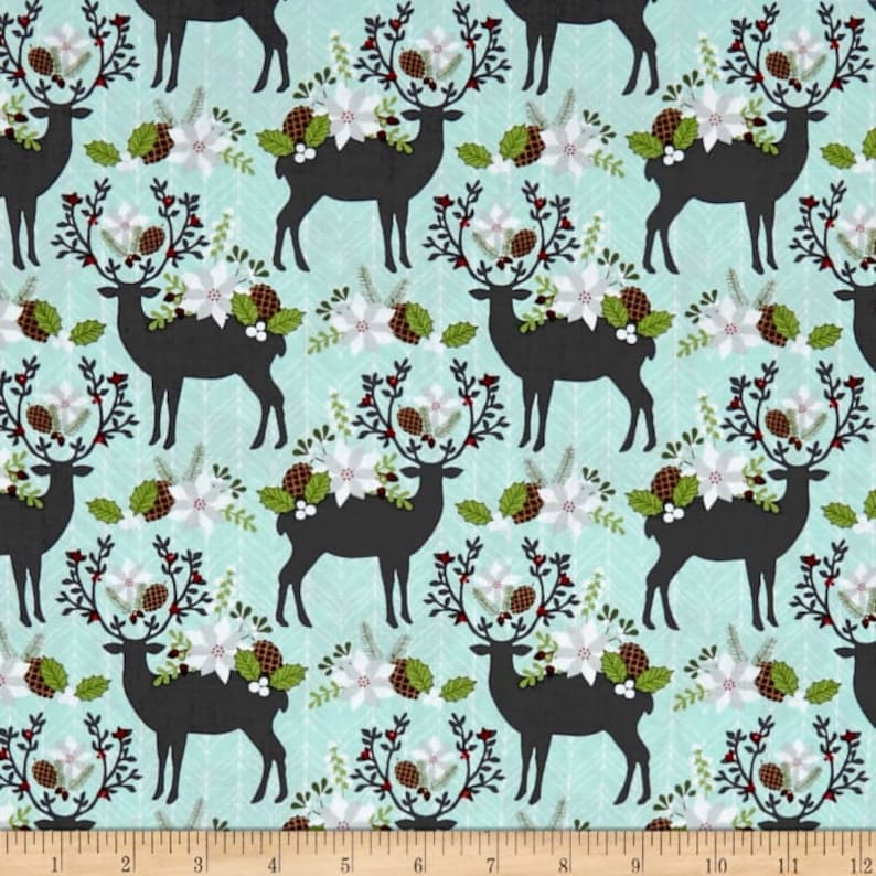 Dashwood Studio Garden Contemporary Bold Flower Cotton Patchwork Fabric