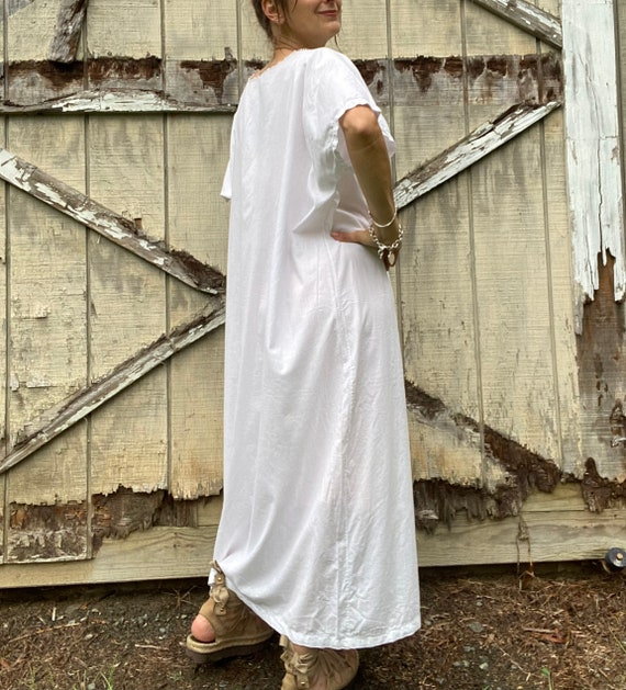 1920s Cotton Night Dress - image 5