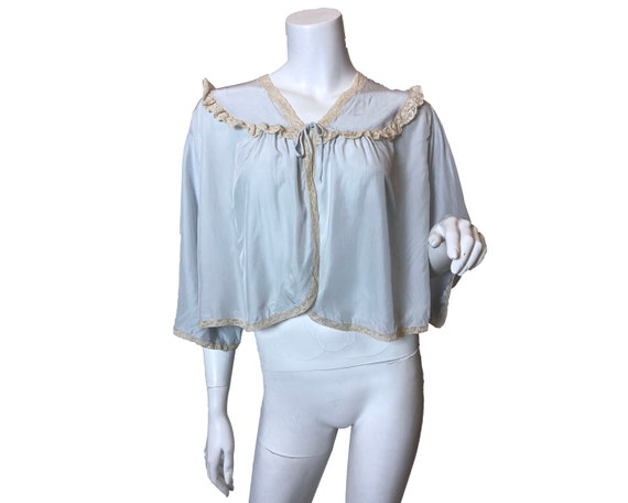 1940s Rayon Bed Jacket