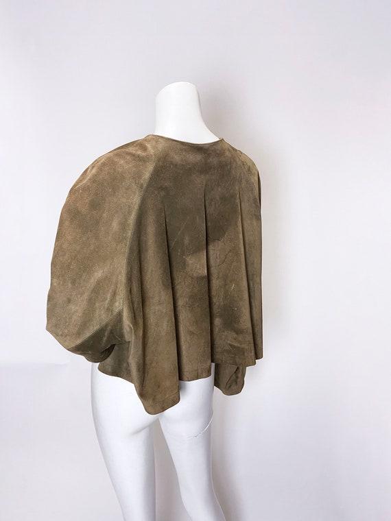 1980s Ralph Lauren Blue Label Suede jacket - image 8