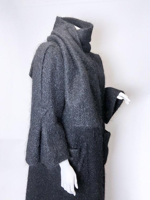 1980s Pauline Trigere Mohair Coat - image 6