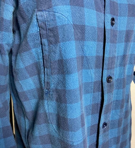 1980s Kenzo Jap Buffalo Plaid  Shirt - image 6