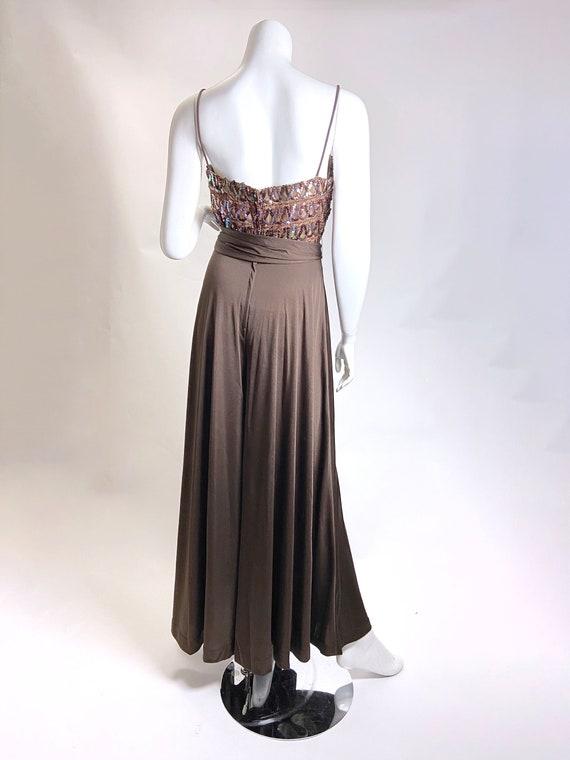 1970s Lilli Diamond Sequin Jumpsuit - image 4