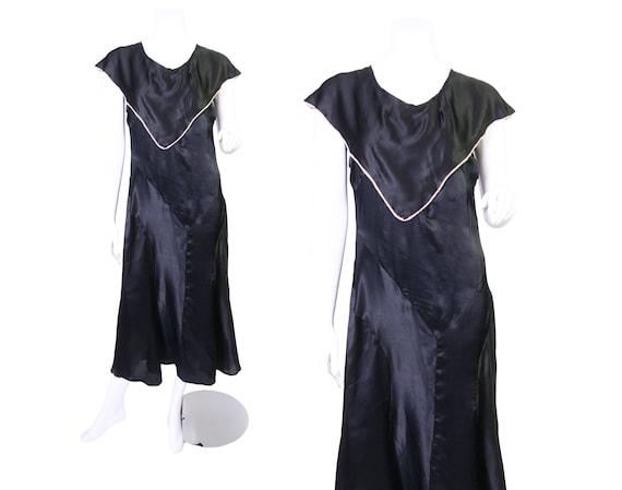Early 1930s Silk Dress