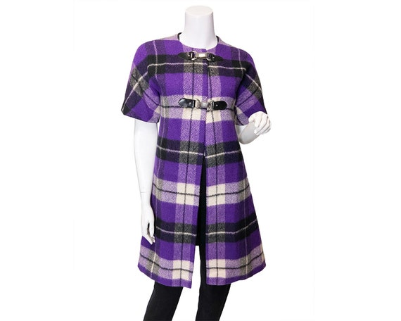 1960s Ruth Norman for Gay Gibson Plaid Jacket