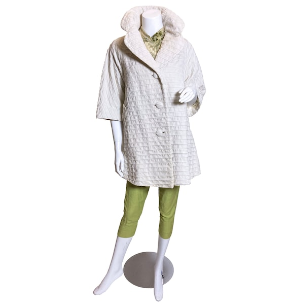 1950s to 1960s Lilli Ann French Cotton Coat