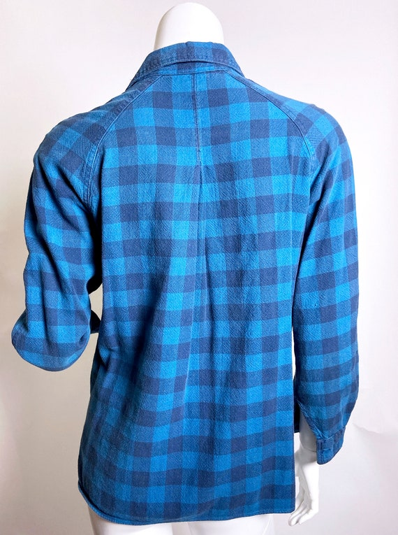 1980s Kenzo Jap Buffalo Plaid  Shirt - image 3