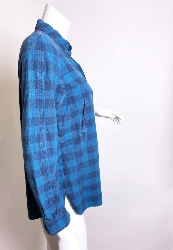 1980s Kenzo Jap Buffalo Plaid  Shirt - image 5