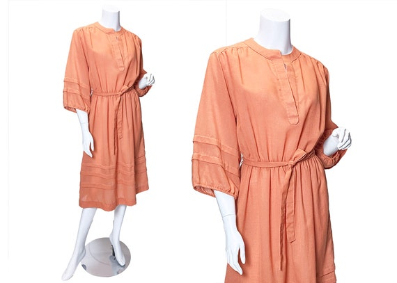 1970s R & K Originals Peasant Dress