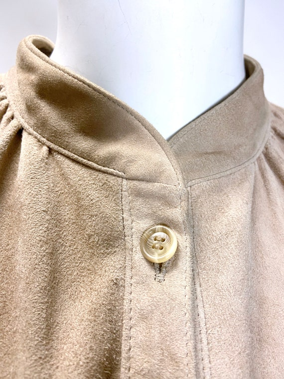 1980s Suede Shirt Jacket - image 2