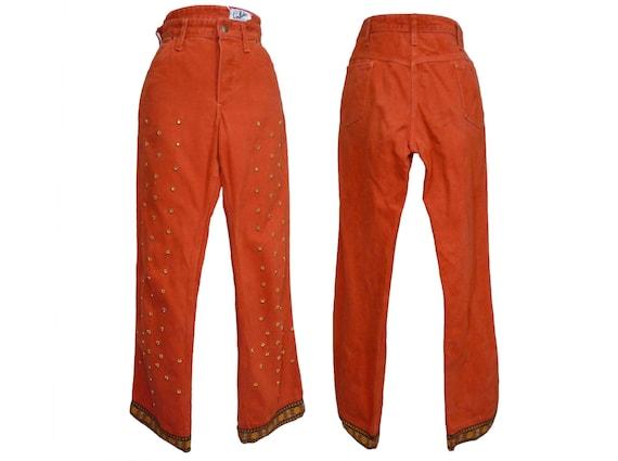 Vintage 1970s Ladies Landlubber Jeans Embellished… - image 2