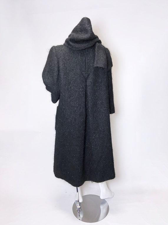 1980s Pauline Trigere Mohair Coat - image 4