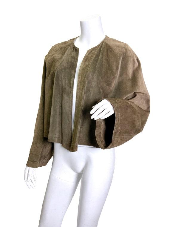 1980s Ralph Lauren Blue Label Suede jacket - image 3