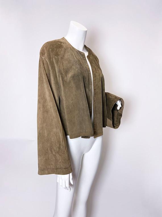 1980s Ralph Lauren Blue Label Suede jacket - image 6