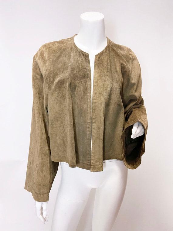1980s Ralph Lauren Blue Label Suede jacket - image 5