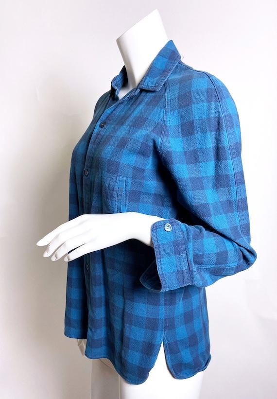 1980s Kenzo Jap Buffalo Plaid  Shirt - image 2