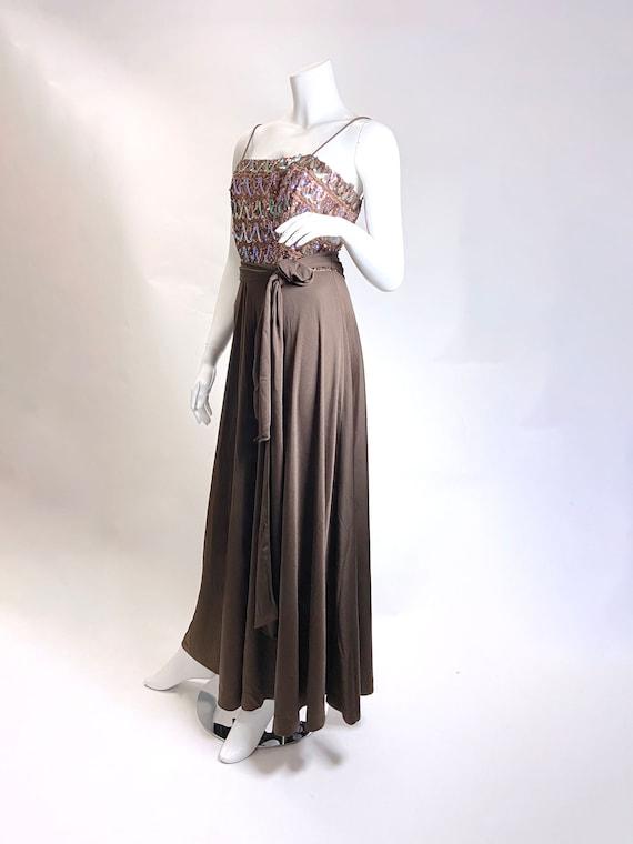 1970s Lilli Diamond Sequin Jumpsuit - image 5