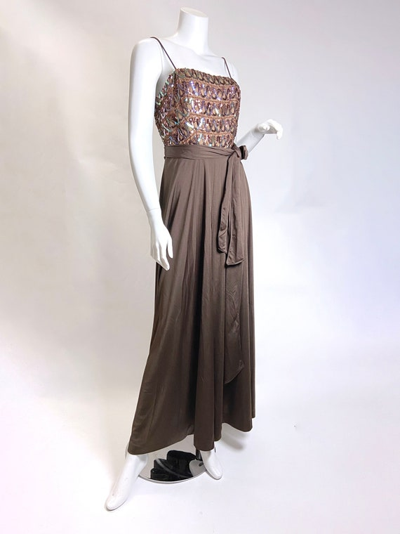 1970s Lilli Diamond Sequin Jumpsuit - image 7
