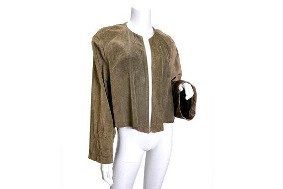 1980s Ralph Lauren Blue Label Suede jacket - image 1
