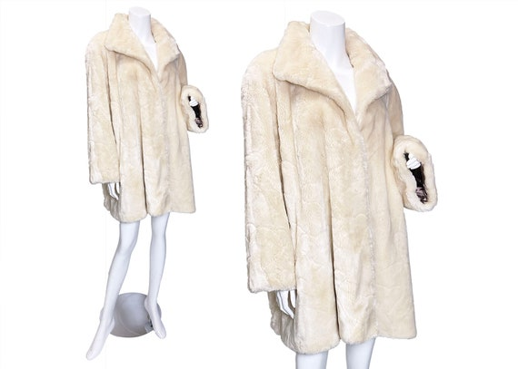 1980s Teddy Bear Faux Fur Coat