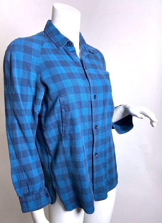 1980s Kenzo Jap Buffalo Plaid  Shirt - image 4