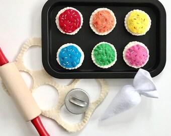 Felt Food | Play Food | Food Toy | Play Pretend | Waldorf Toys | Play Kitchen | Montessori | Fake Food | Educational Toys | Gift