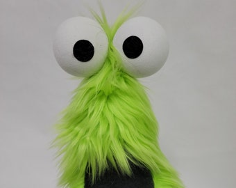 A Flat-Footed Frizzle by All Hands Productions (LIME GREEN)