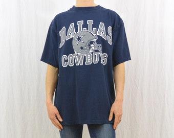Vintage Dallas Cowboys T Shirt, Size XL, Football, Texas, Sporty, Men's, Unisex