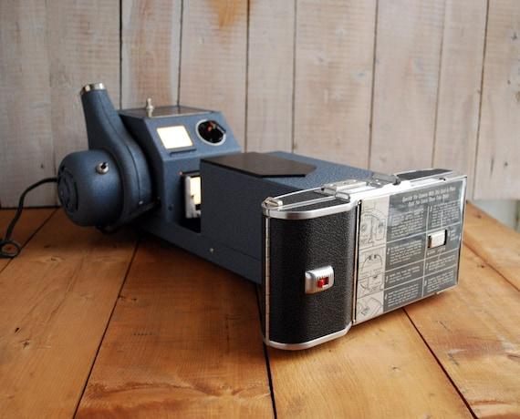 rare polaroid slide copier model 235 unused in original box etsy