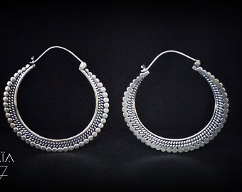 MEDIEVAL EGLISES silver earrings medieval churches BOA064