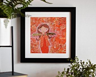 Glicèe Art Print: Tannie