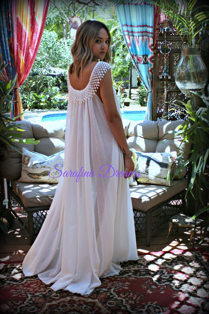 50830739d Cotton Nightgown White Cotton Sleepwear Honeymoon Cotton