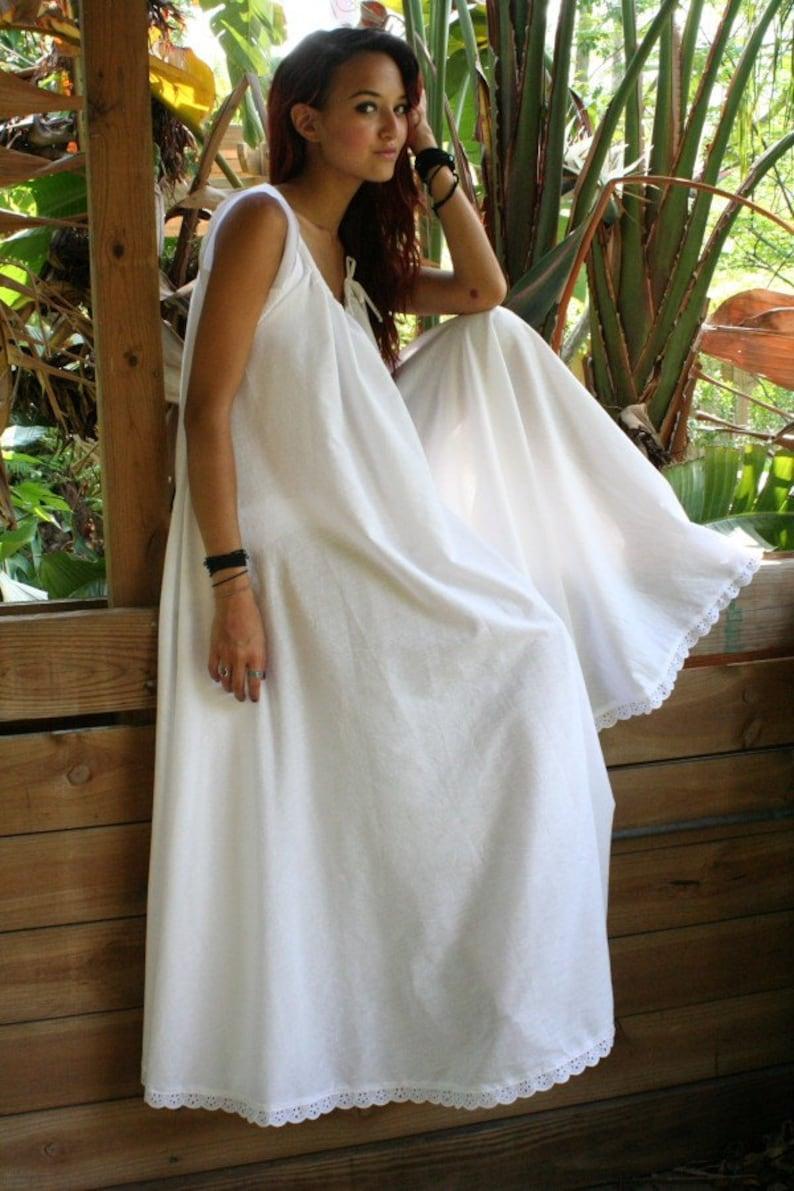 339664d574 White Cotton Full Swing Bridal Wedding Lingerie Romance