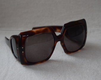 Vintage Faux Tortoise Shell Prescription Sunglasses Made in France Very Chic/Vintage Sunglasses Made in France Boho Chic