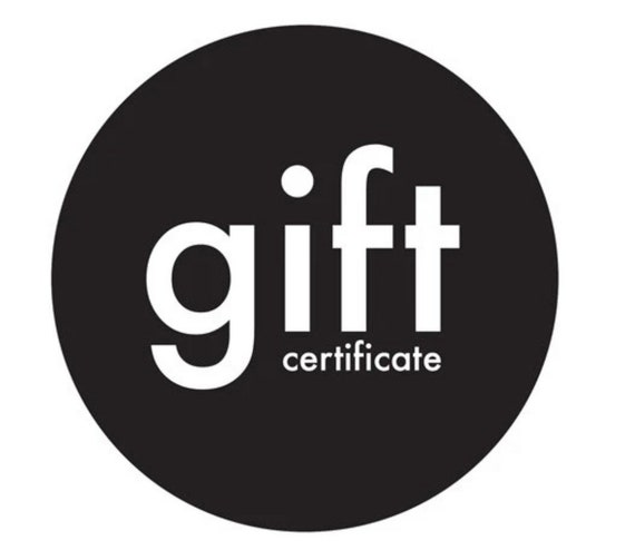 Gift certificate!! 300