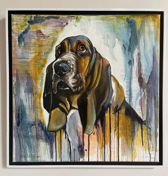 Basset hound, 20x20