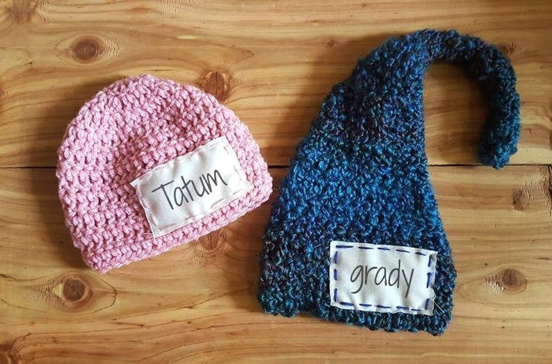 fe7e779a822d9 Personalized baby hat | Personalized crochet hat | Personalized newborn hat  | Personalized baby photo prop