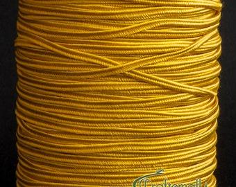 Beadsmith soutache rayonne Tressé Cordon 3 Yds-Marron clair 3 mm large