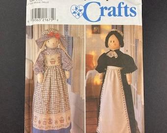 ON SALE Fall Porch Decor Patterns I Holiday Decoration I Doll Craft I Vintage McCalls Sewing Pattern 8177 I Uncut I One Size