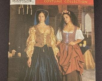 ON SALE Renaissance Costumes Pattern Set I Medieval Costume I Renaissance Fair I Vintage Simplicity Sewing Pattern 8715 I Uncut I Sizes 4-6-