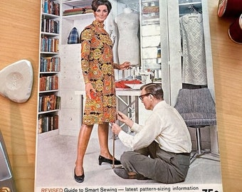 ON SALE Vintage Sewing Book I McCalls Sewing Guide I 1969 I Great Collectors Item or Resource for Beginner Sewing Projects!