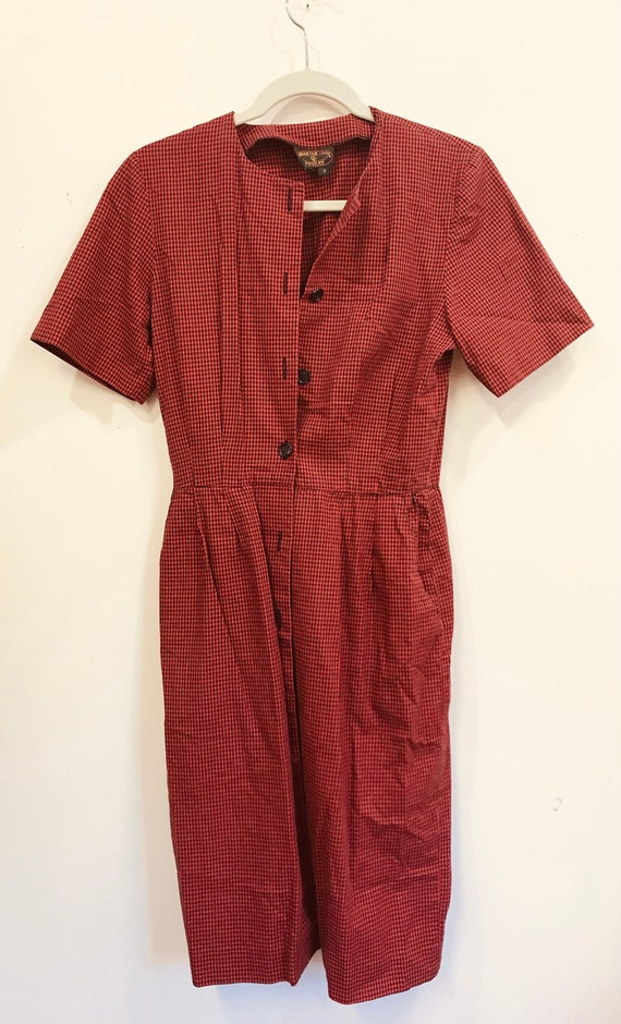 vintage red and black 1990s Charter Club Petites b