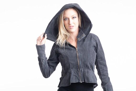 Burning Man Chic Clothing pixie Steampunk Festival Fashion Boho Clothing cardigan,Reversible Cardigan Jacket