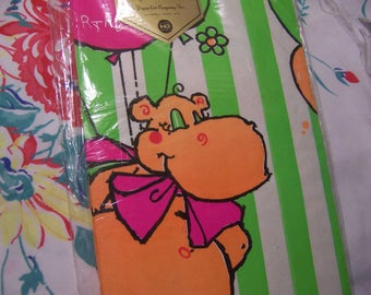 paper art happy birthday juvenile table cover