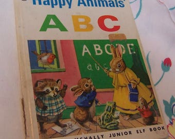 happy animals abc book