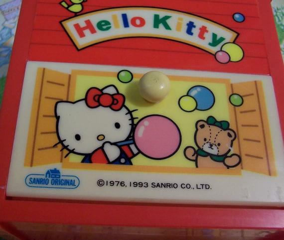 Vintage Hello Kitty hair band 1993 Sanrio made in Japan