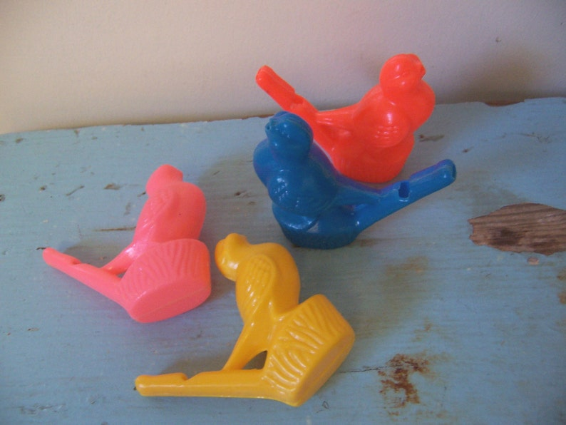 vintage toy  bird whistle