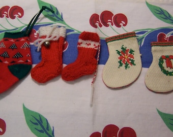 wee tiny christmas stocking ornaments