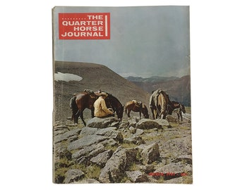 "1960s ""The Quarter Horse Journal"" Horse Magazine, Cowboy, Western Magazine"